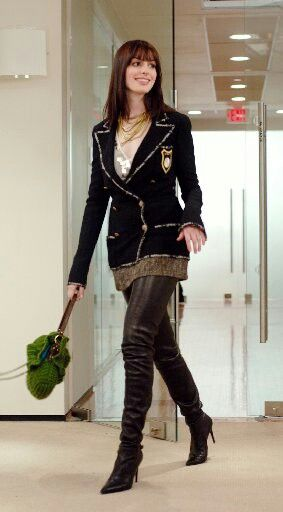 Anne Hathaway in The Devil Wears Prada