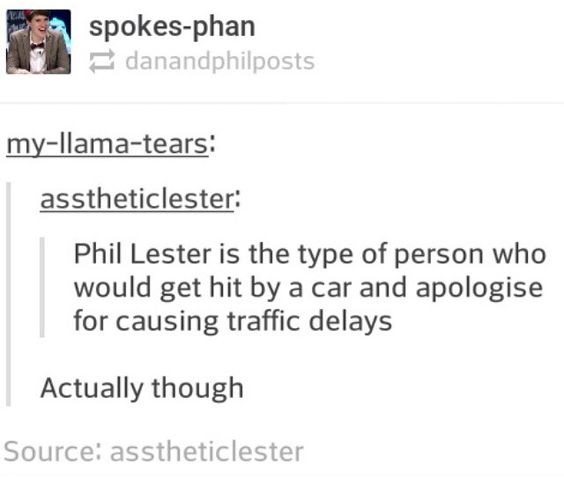 im laughing but I want to cry and also the person's username is asstheticlester im dying