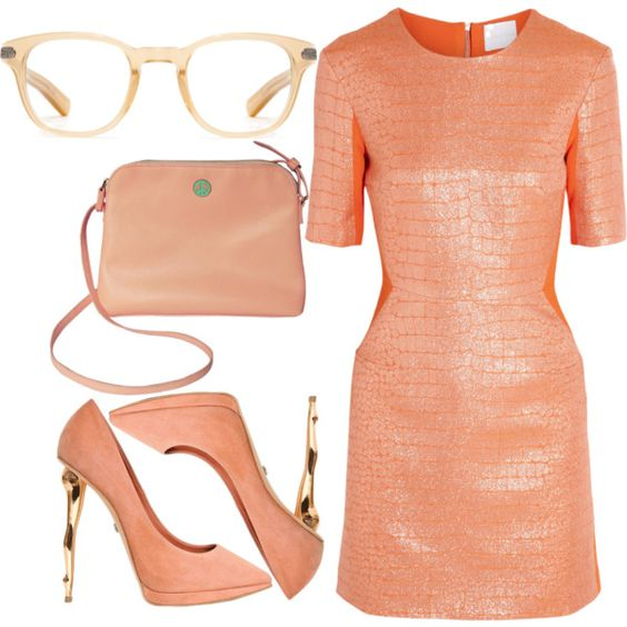 """Peaches"" by qnniejas on Polyvore"
