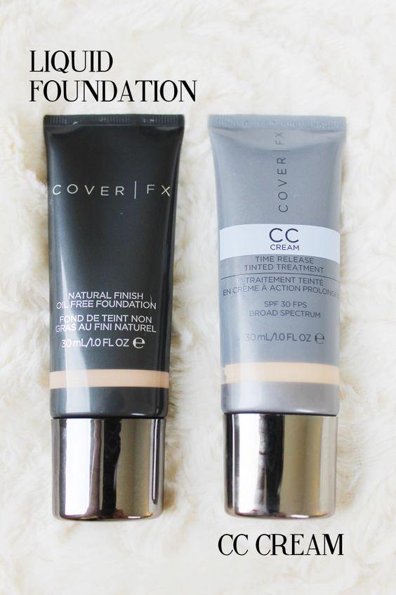 cover fx foundation and cc cream