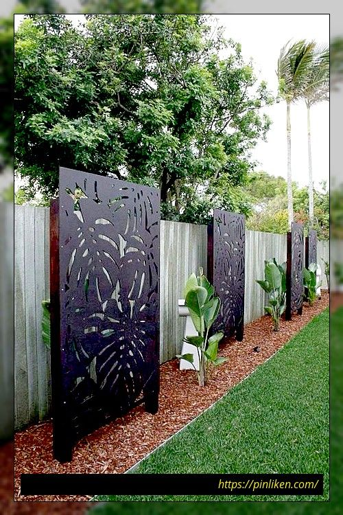 78 Ideen Moderner Gartenzaune Fur Sommerideen In 2020 Mit Bildern Gartenschirme Gartengestaltung Hinterhof Garten