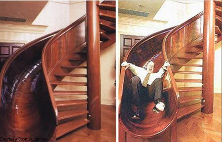 the slide stairs