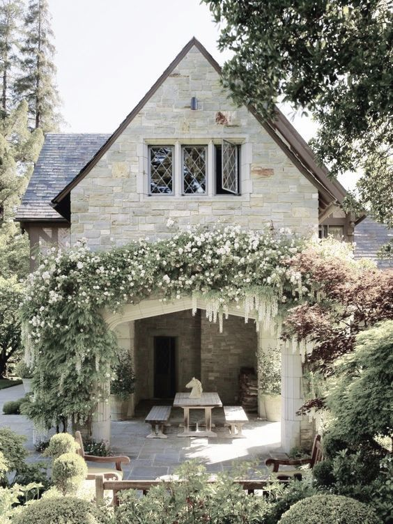 Carmel stone and hand carved trim makes it truly a work of art.