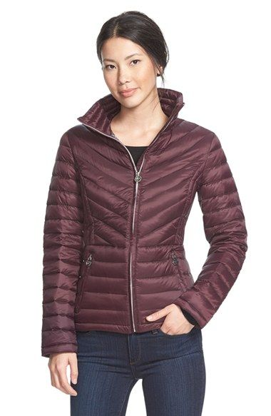 Women&39s Michael Michael Kors Stand Collar Packable Down Jacket