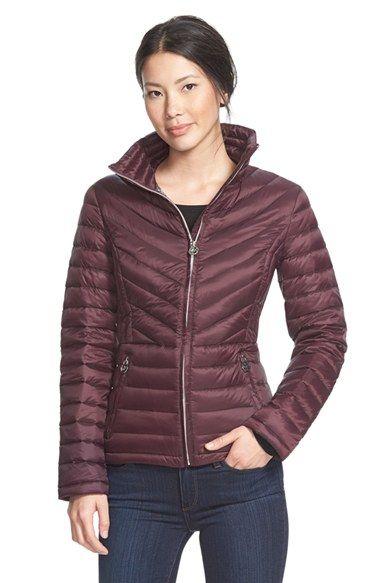 Women&39s Michael Michael Kors Stand Collar Packable Down Jacket