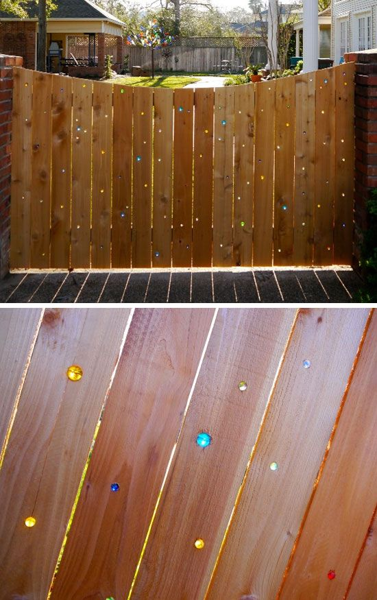 Marble Fence | DIY Backyard Ideas on a Budget | DIY Garden Fence Ideas