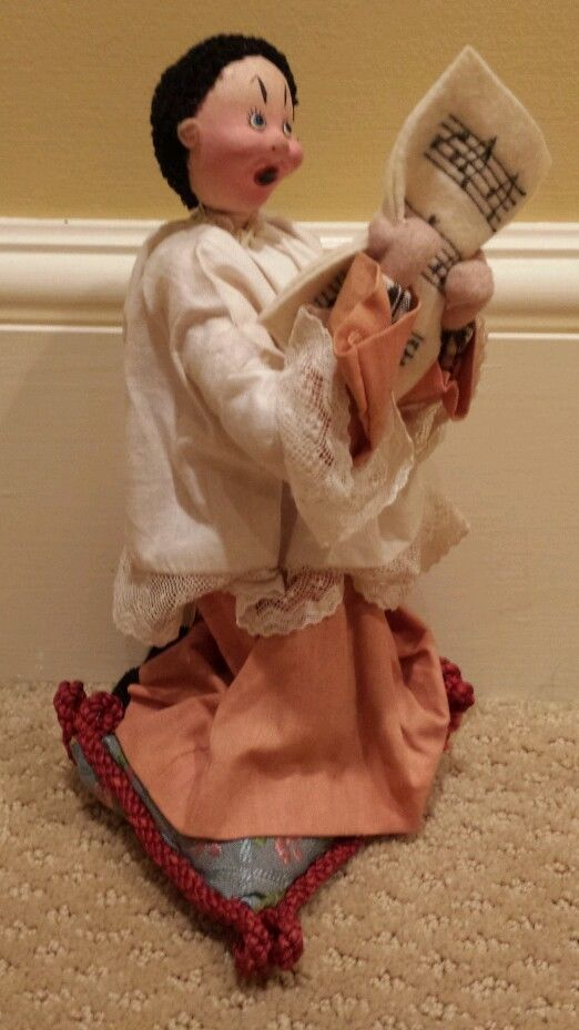 Vintage Klumpe Made in Spain Singing Choir Boy Doll #Klumpe
