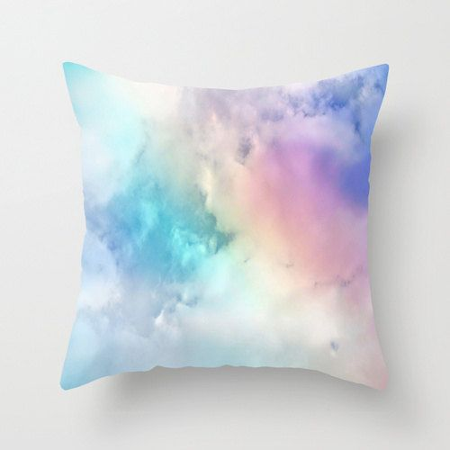 Pillow Cover Decor Home Decor Clouds Room Decor by JanelleTweed