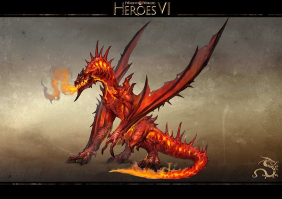 ARKATH, the Dragon of FIRE