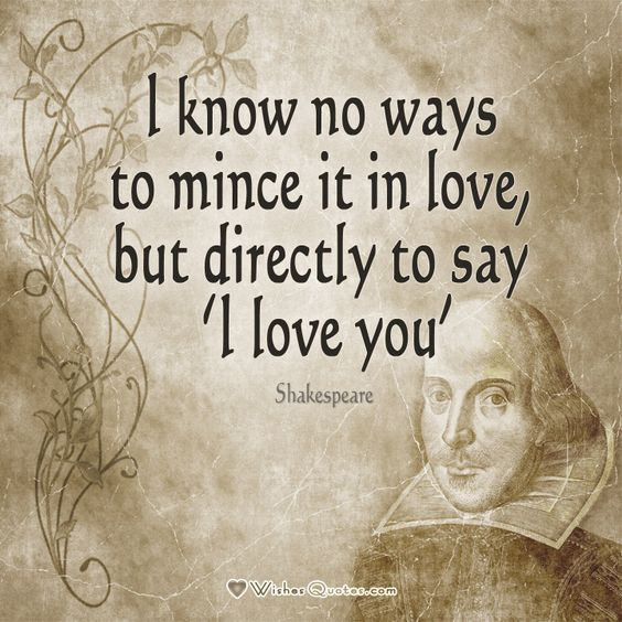 Shakespeare Quotes About Love: Shakespeare On Love - Top Shakespeare's Love Quotes
