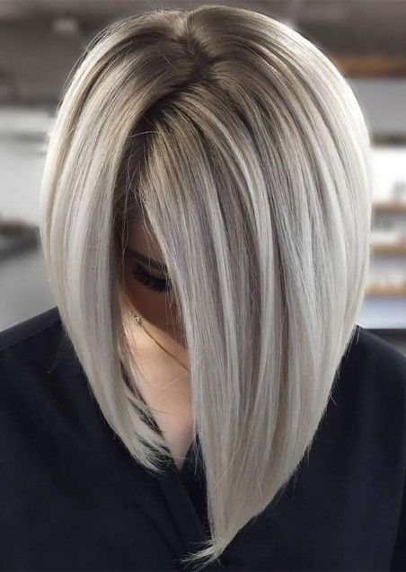 Lovely Frisuren Graue Haare 2019 Bob Frisur Graue Haare Frisuren Graue Haare Kurzhaarfrisuren
