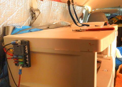 Installing A 12 Volt Fuse Block Oldtimeradioadventure Cheap Rv Camper Van Conversion Diy Diy Campervan