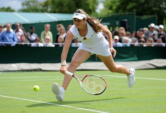 Aleksandra Wozniak - The Championships - Wimbledon 2011: Day Two
