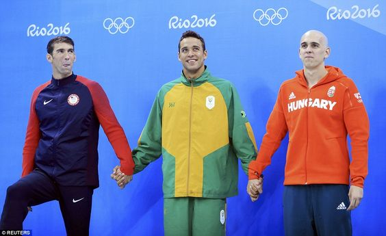 It was a rare sight to see three swimmers sharing the silver medal spot on the…