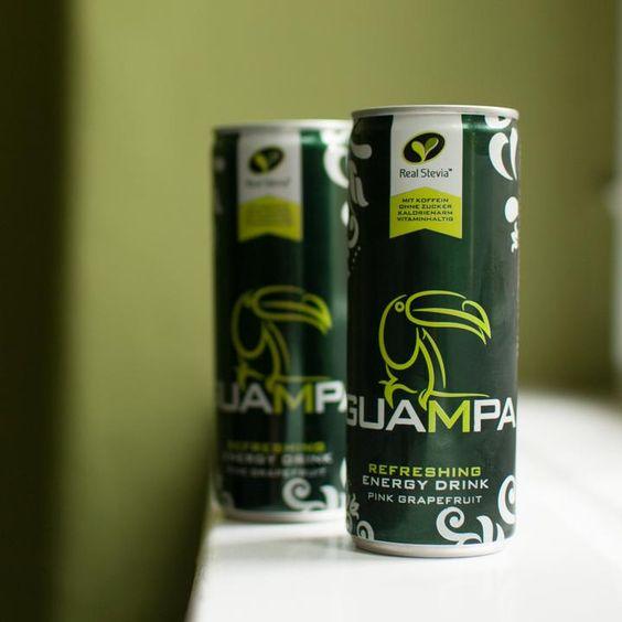 Wenn Energy zur zuckerfreien Limo wird: GUAMPA setzt auf Stevia