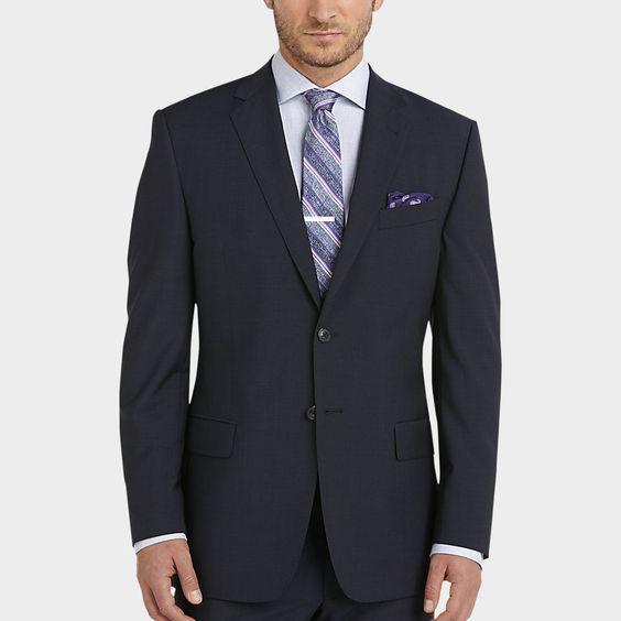 Joseph Abboud Navy Stripe Modern Fit Suit - Ultimate Gifts   Men's Wearhouse