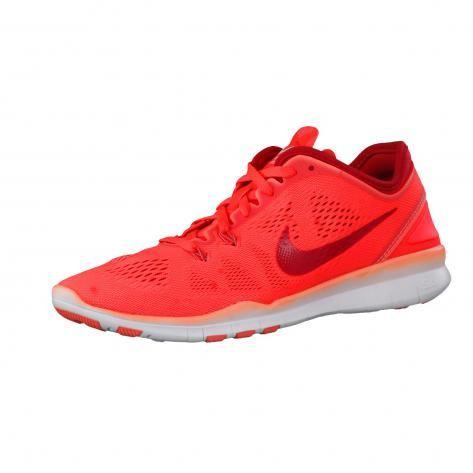 Nike Damen Trainingsschuhe Free 5.0 TR Fit 5 704674-601 37.5 Bright Crimson/Prm…