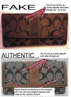 Tips for spotting a fake Coach bag | eBay