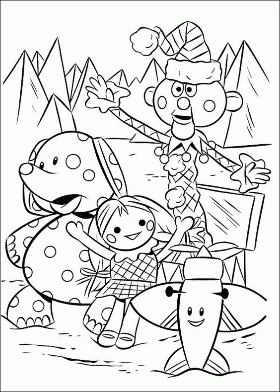 Rudolph the Red-Nosed Reindeer coloring pages on Coloring-Bookinfo - new coloring pages for rescue bots