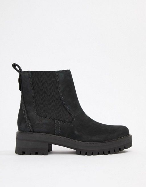 Boots, Chelsea boots, Black leather
