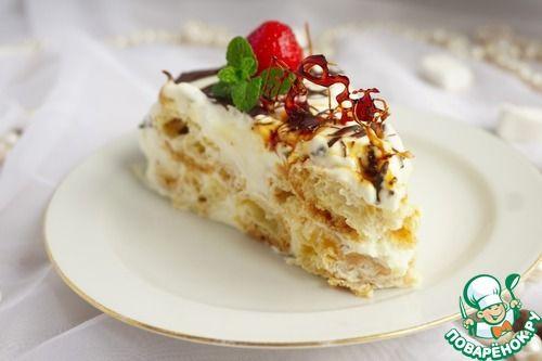 """Торт для любимого """"Дамские пальчики"""" - кулинарный рецепт"""