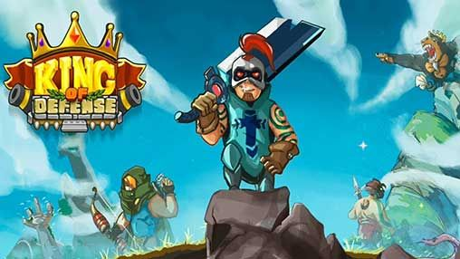King Of Defense The Last Defender 1 19 Apk Mod Money Android