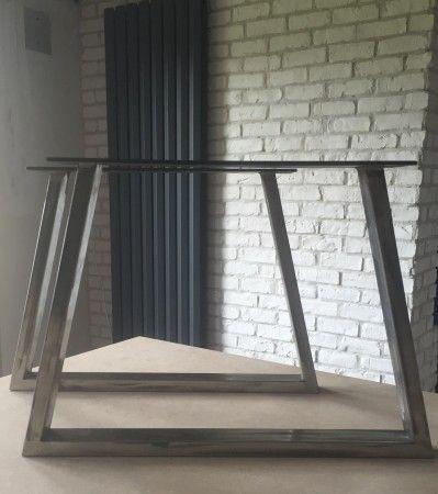 pieds de table en acier id es pour mon prochain bureau. Black Bedroom Furniture Sets. Home Design Ideas