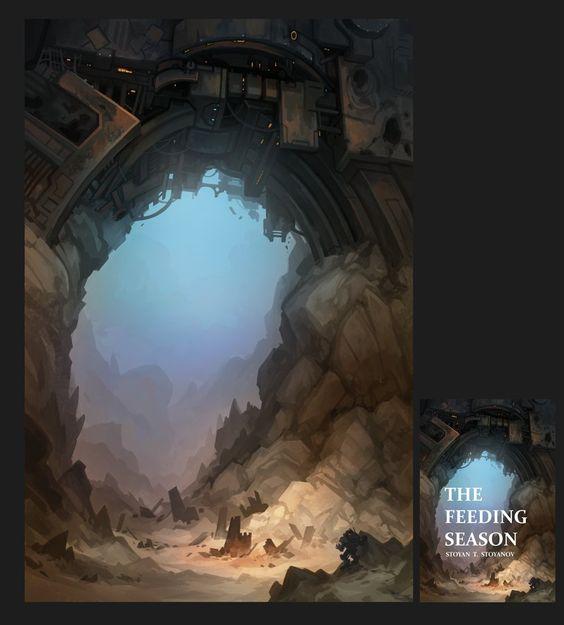 The Feeding Season, Stoyan Stoyanov on ArtStation at https://www.artstation.com/artwork/the-feeding-season