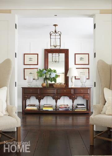 Stunning New England Home Interior Design Ideas - Decoration ...