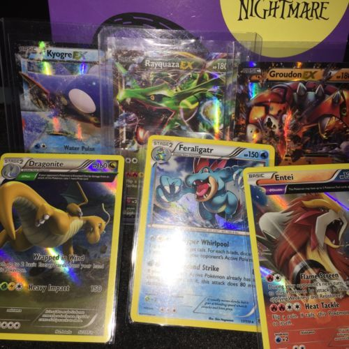 Pokemon Card Lot! 6 Cards! 3 Ex Pokemon! Full Art! https://t.co/ff3Uvpv9Ks https://t.co/vPlzzdbtoR