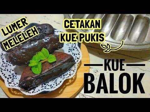 Cara Membuat Kue Balok Dengan Cetakan Kue Pukis Kue Hits Viral Youtube Makanan Kue Kue Lezat