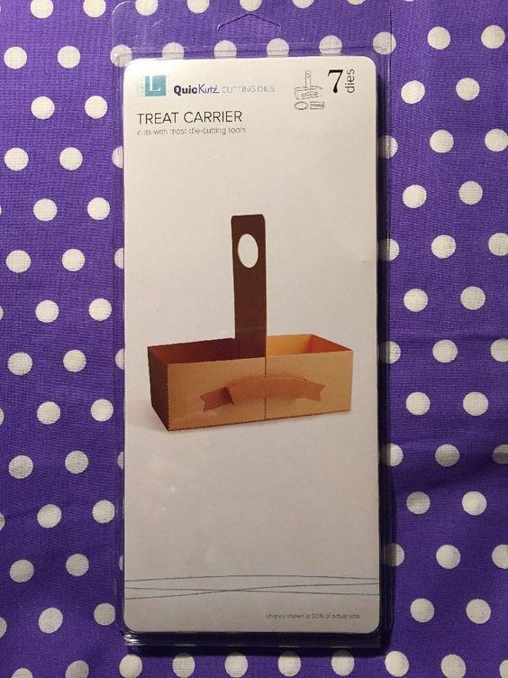 Lifestyle Crafts Quickutz Cutting Die Set Treat Carrier Favor 7 Dies DC0354 | eBay