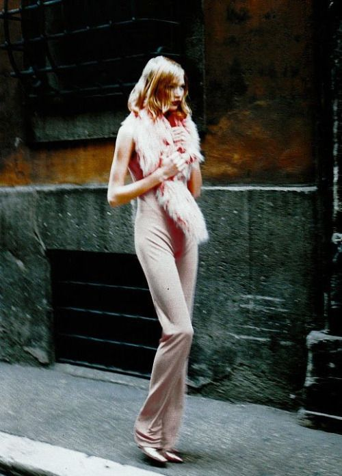 "orwell:  "" Jodie Kidd photographed by Friedemann Hauss, 1995  """