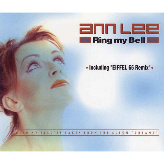 Ann Lee – Ring My Bell (single cover art)