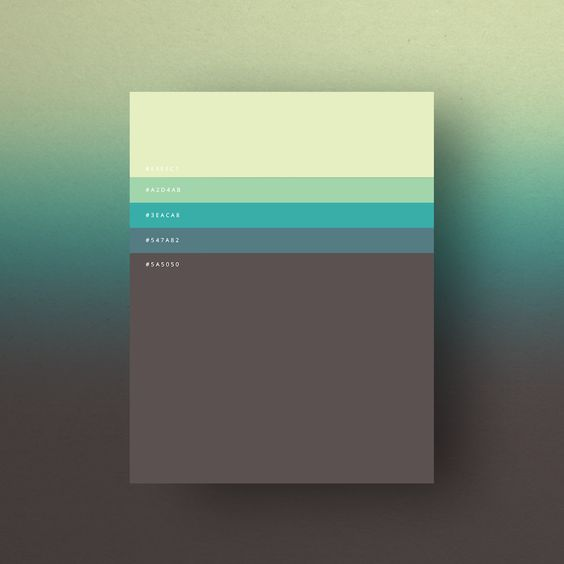 Colorful Minimalist Design: The Minimalist Color Palettes Of 2015