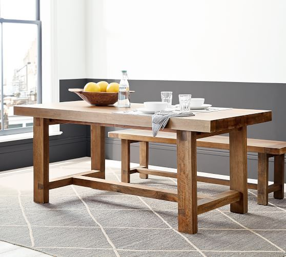 Reed Extending Dining Table Extendable Dining Table Reclaimed Wood Dining Table Pine Dining Table