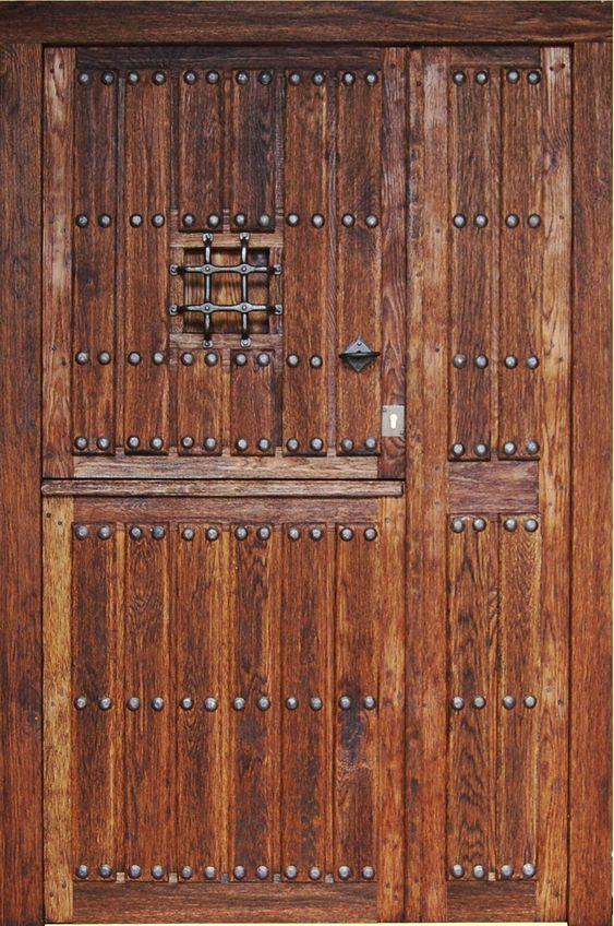 Puertas r sticas exterior buscar con google puertas for Puertas rusticas de madera