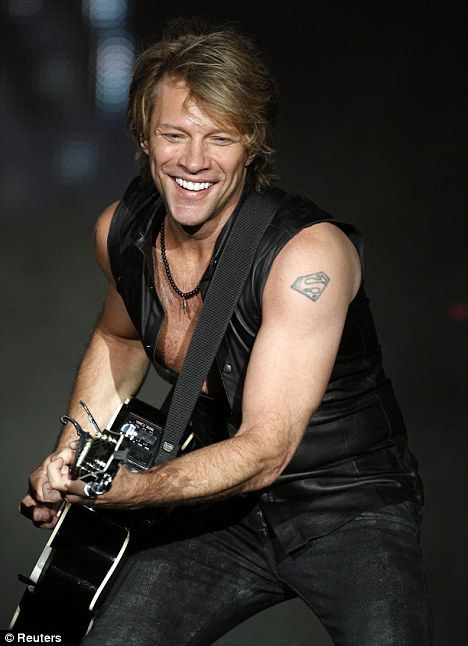 John Francis Bongiovi Jr. AKA Jon Bon Jovi - Rock star, father, sexy, and philanthropist! What's not to like about this guy??: