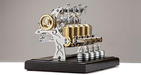 Stirlingmotor HB34 – Max Tattoo Bild2