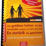 """Gratis-eBook """"Wie Sie Ihren Ex Partner zurückgewinnen mit System""""  Diese Fehler müssen Sie unbedingt vermeiden, wenn Sie Ihren Ex  Partner zurückgewinnen"""" möchten"""