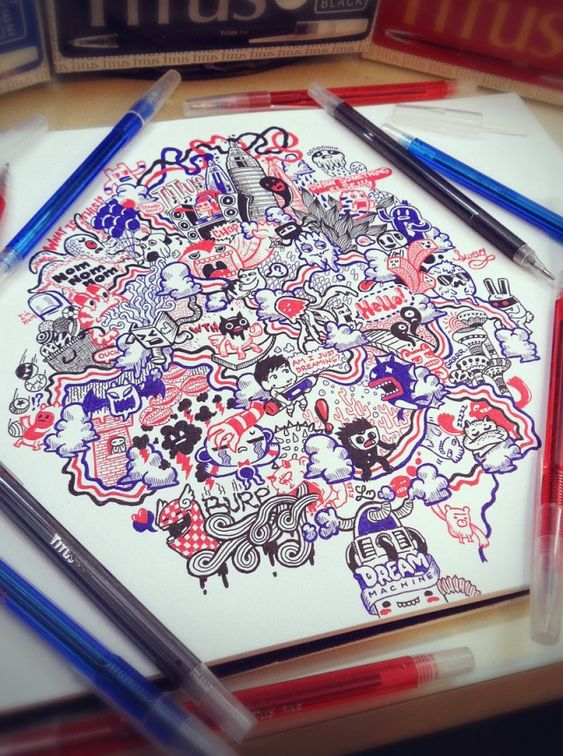 Doodles Illustrations by Lei Melendres