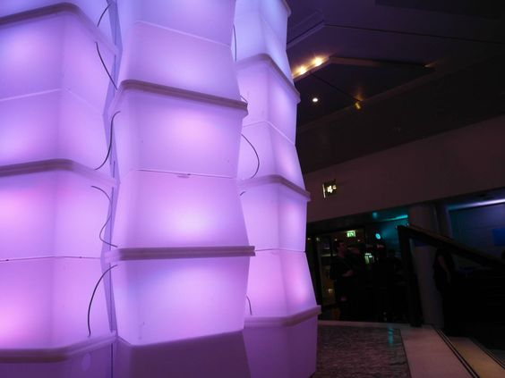 29C3 Lichtinstallation Eingang