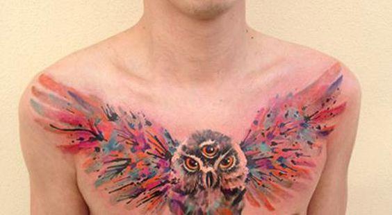 Watercolor-Owl-Tattoo-Ideas-600x330.jpg (600×330)