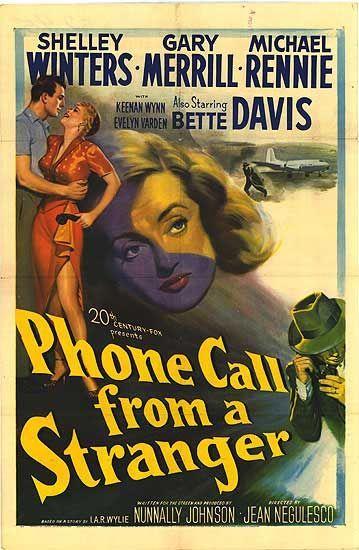 Telefonema de um Estranho - 1952