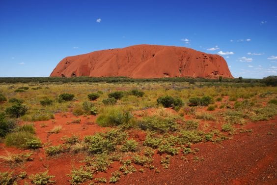 Uluru from the West
