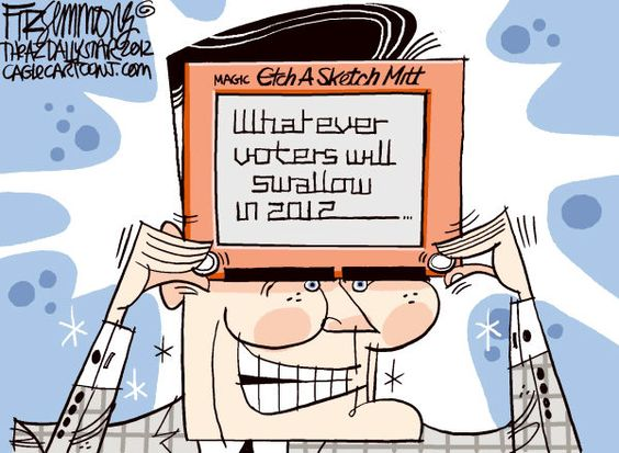 Etch-a-Romney #MittRomney #republican