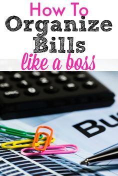 How to organize bills so you can save money each month! save money, ideas to save money, smart spending habits #savemoney