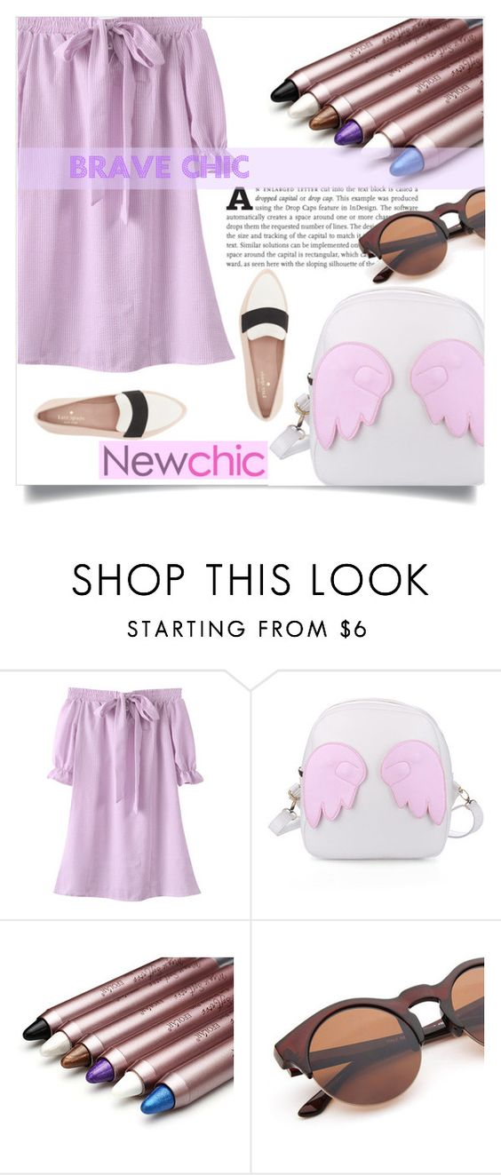 """""""#newchic#"""" by kriz-nambikatt ❤ liked on Polyvore featuring Kate Spade and newchic"""