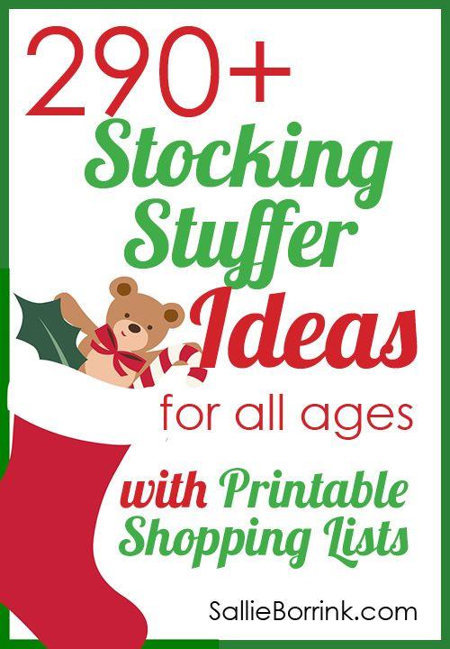 Stockings christmas stocking stuffers and high schools on for Christmas stocking stuffers ideas for everyone