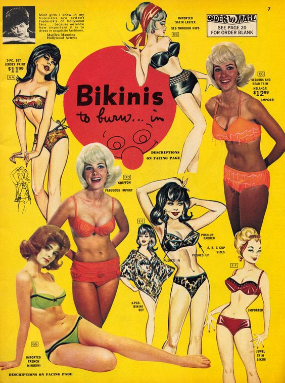 Bikinis #lingerie #jetudielacom